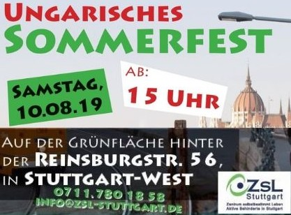 14. Sommerfest am 10. August 2019